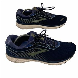 Brooks Womens Ghost Blue Running Shoes Size 12 2A